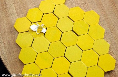 Use Pattern Blocks to Build a Beehive