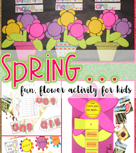 Spring Learning Activities for Little Kids
