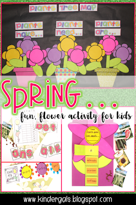 spring flower learning activities