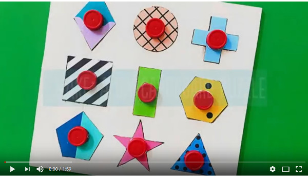 Make Your Own Shape Puzzle Out of Cardboard