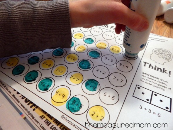 printable addition games