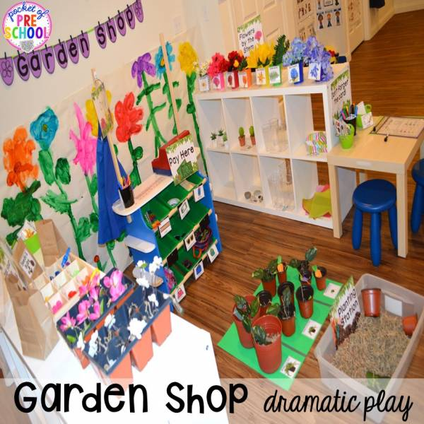 garden dramatic play ideas