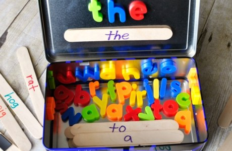 Word Building Travel Kit