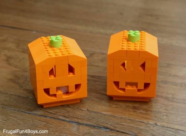 lego jack o'lantern pattern
