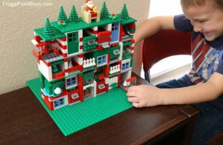 Build a Lego Advent Calendar