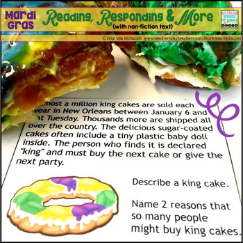 mardi gras learning activities