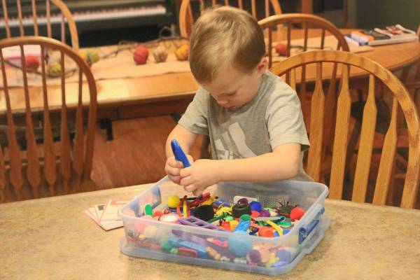DIY I-Spy for Preschoolers
