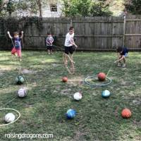 This Hula Hoop Lasso Game is Perfect Summer Fun