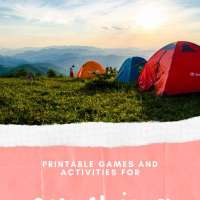Camping Printable Games for Your Outdoor Adventures