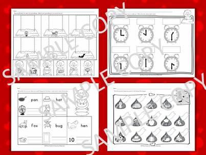 February common core standards for kindergarten