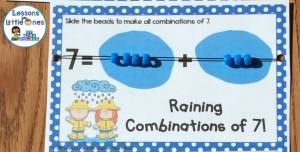 decomposing numbers equation board