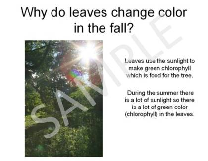 signs of fall, autumn
