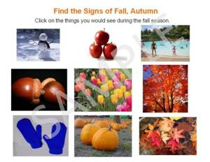 signs of fall, autumn season