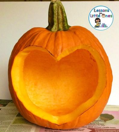 religious pumpkin carving activity