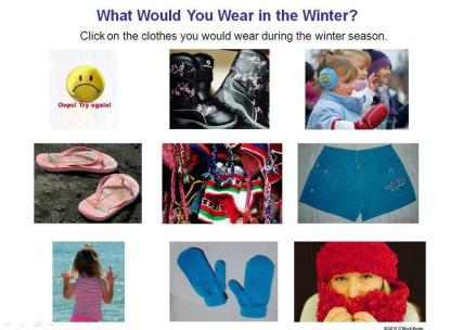 winter season clothing