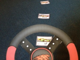 sight word fluency practice on the sight word speedway