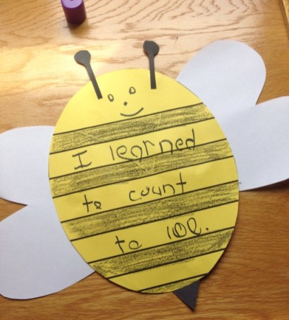 """bees for We Had an """"Un-bee-lievable"""" Year bulletin board"""