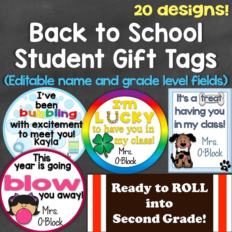 photograph about You Blew Me Away This Year Free Printable named Conclusion of the 12 months Pupil Presents Present Tags - Classes for