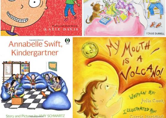 45 Kindergarten Books for the Beginning of the School Year