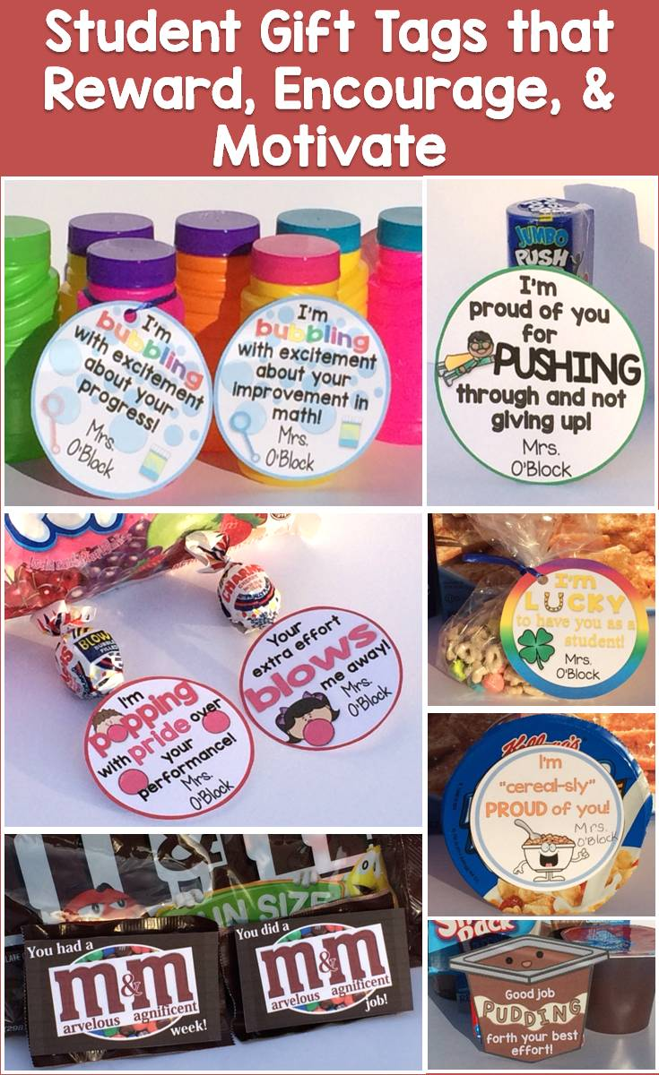 picture relating to Encouraging Notes for Students During Testing Printable identified as Pupil Reward Programs Reward Tags for Sure Reinforcement