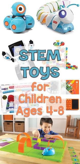 STEM Toys for Children Ages 4-8