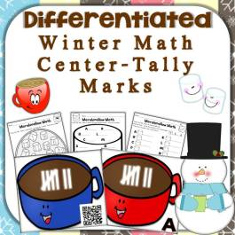 Winter Math Center - Tally Marks
