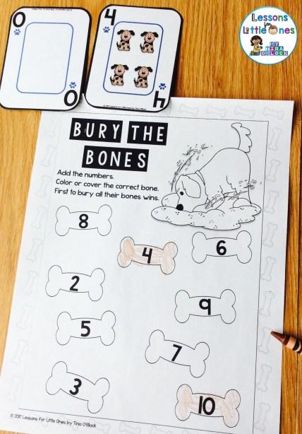 addition fluency game