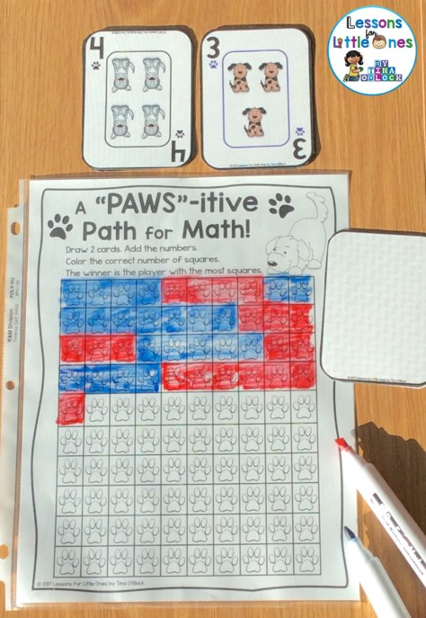 addition fluency & subtraction fluency game