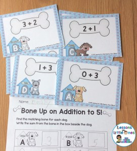 Addition to 10, subtraction to 10 SCOOT