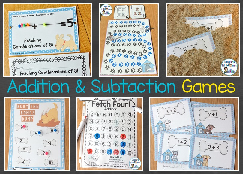 Motivational Fun Addition Subtraction Practice Lessons For
