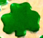 St. Patrick's Day Treat - Shamrock Jello Jigglers