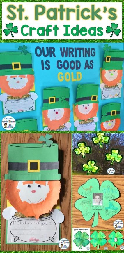 St. Patrick's Day Craft Ideas & Writing Craftivity