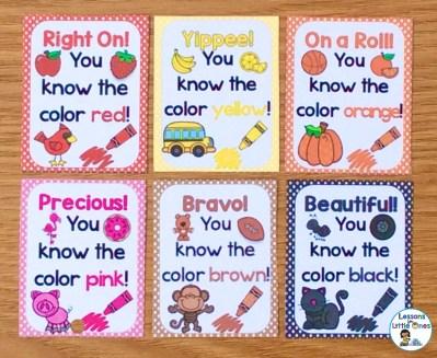 colors brag tags