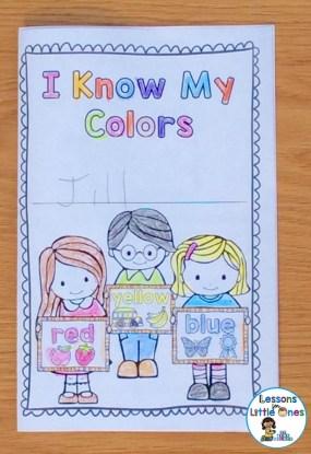 colors brag tag book cover