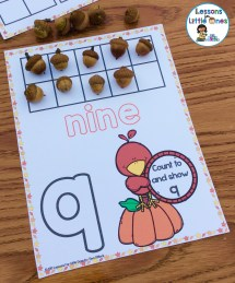 number counting mat