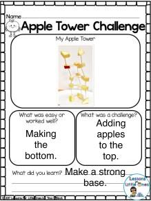 apple tower STEM challenge page