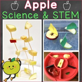 Apple Science Experiments, STEM Activities