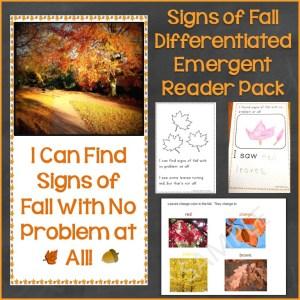 Signs of Fall Season Bundle