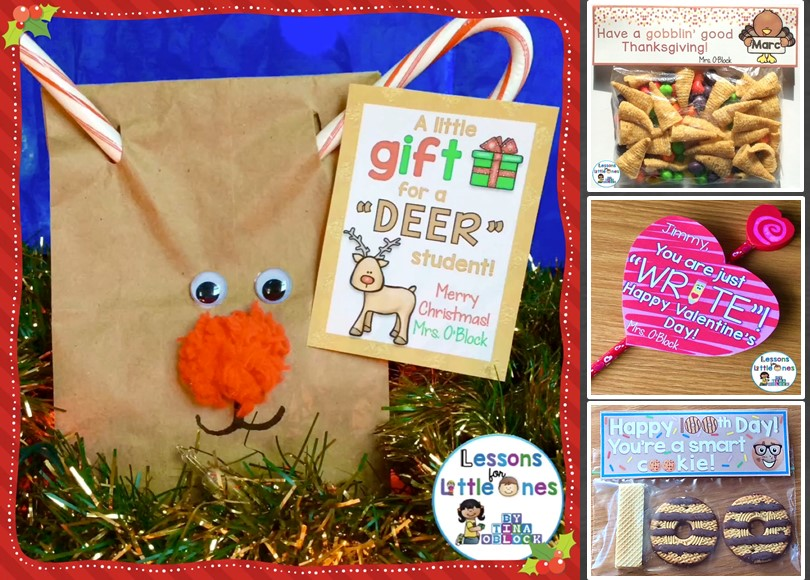 Student Gift Ideas & Tags for Holidays Throughout the Year