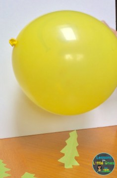 static electricity experiment