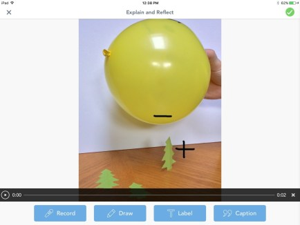 Christmas static electricity Seesaw app