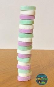 valentine stacking challenge