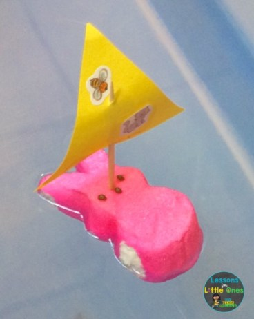 Easter Peeps boat
