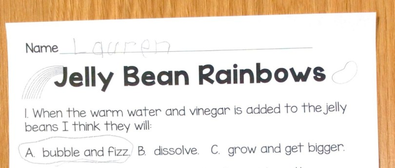 jelly bean rainbow page
