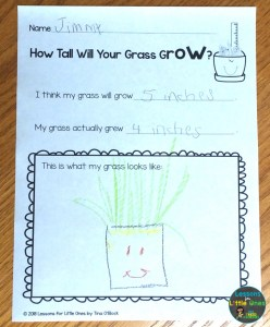 growing grass page