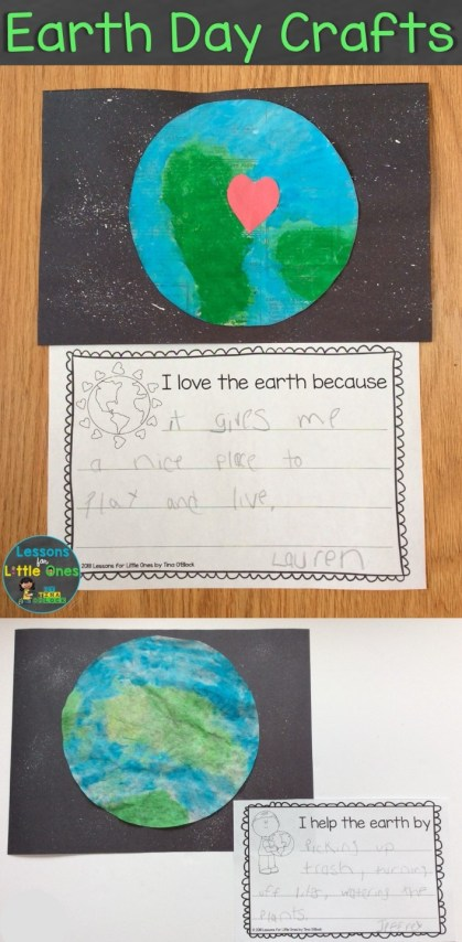 earth day crafts writing prompts