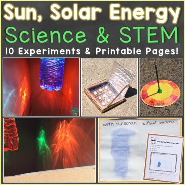 Sun science experiments & STEM activities