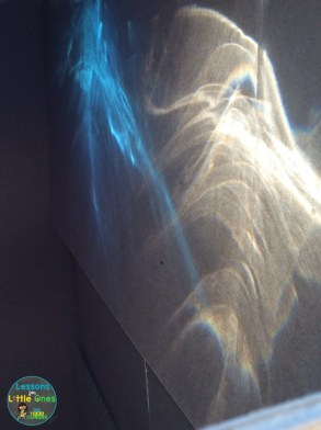 light box experiment rainbow