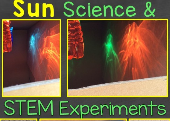 sun science and STEM experiments