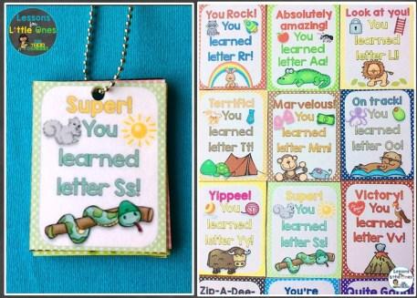 alphabet brag tags